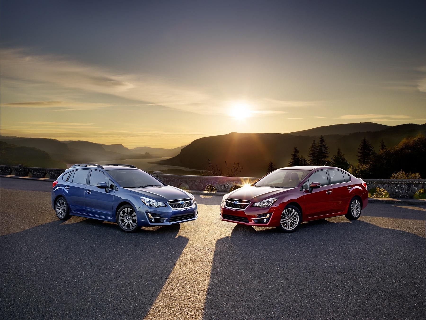 2015 Subaru Impreza: Across the line upgrades