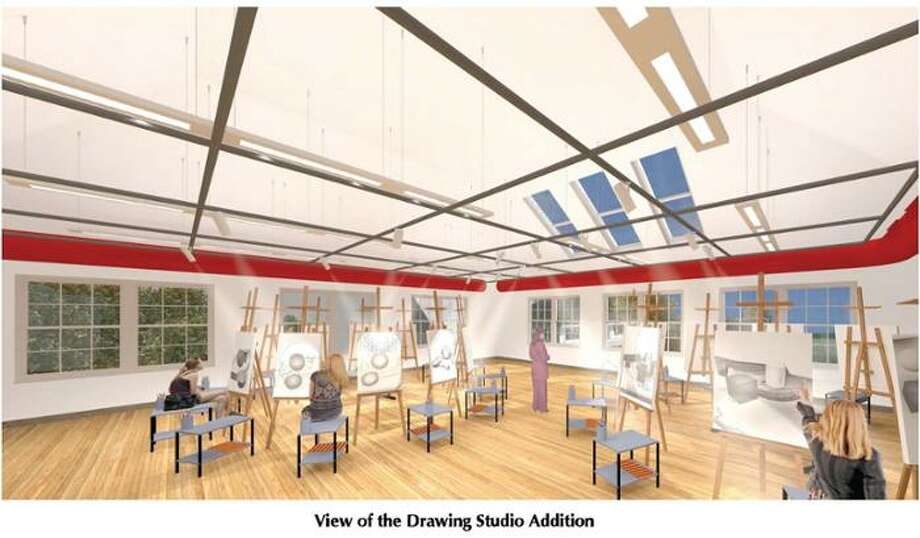 Rendering of the drawing studio addition planned for Union College's Visual Arts Building. (Courtesy Union College)