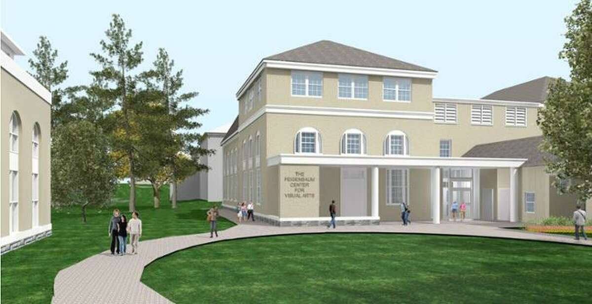 Rendering the Feigenbaum Center for Visual Arts, planned at Union College in Schenectady, N.Y. (Courtesy Union College)