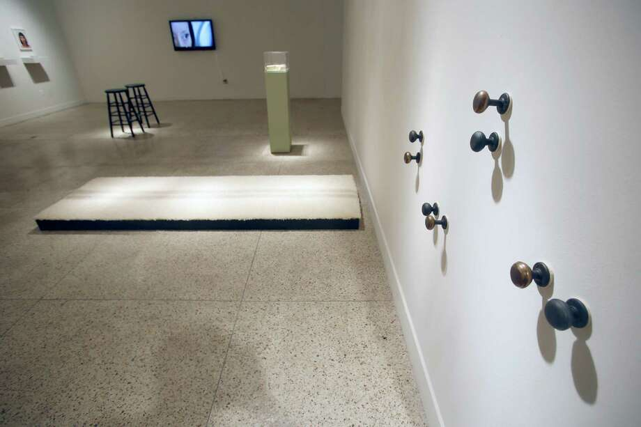 In 2015, the Guadalupe Cultural Art Center's exhibition space hosted theCAM Perennial exhibition. The show featured work by eight artists including this piece is by Karen Mahaffy. Photo: William Luther /San Antonio Express-News / © 2015 San Antonio Express-News
