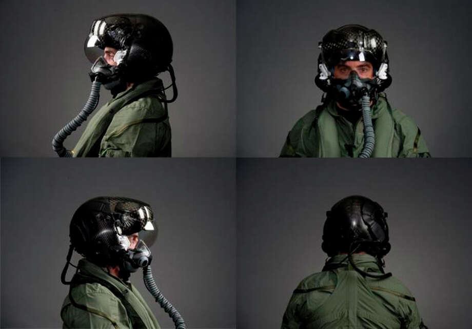 The helmet used with the F-35 Lightning II lets pilots see outside the plane in all directions. Photo: HANDOUT / Washington Post / THE WASHINGTON POST