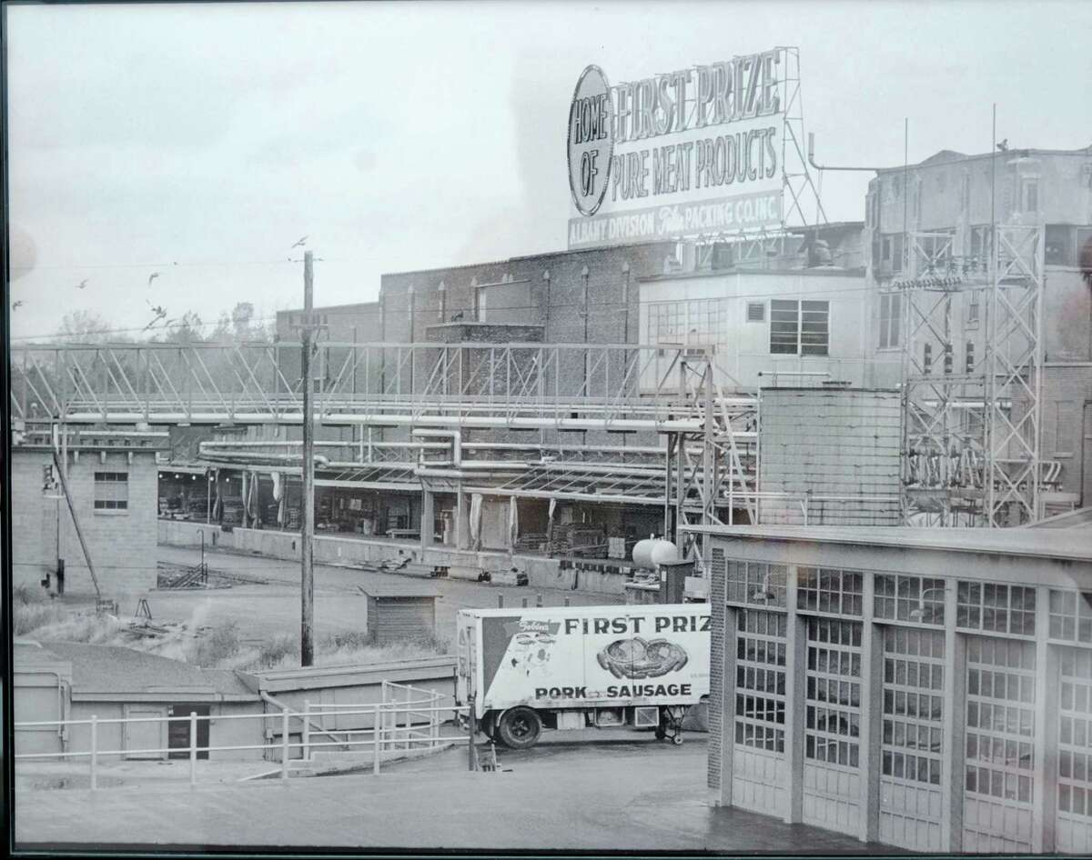 Undated photo of the First Prize Center.
