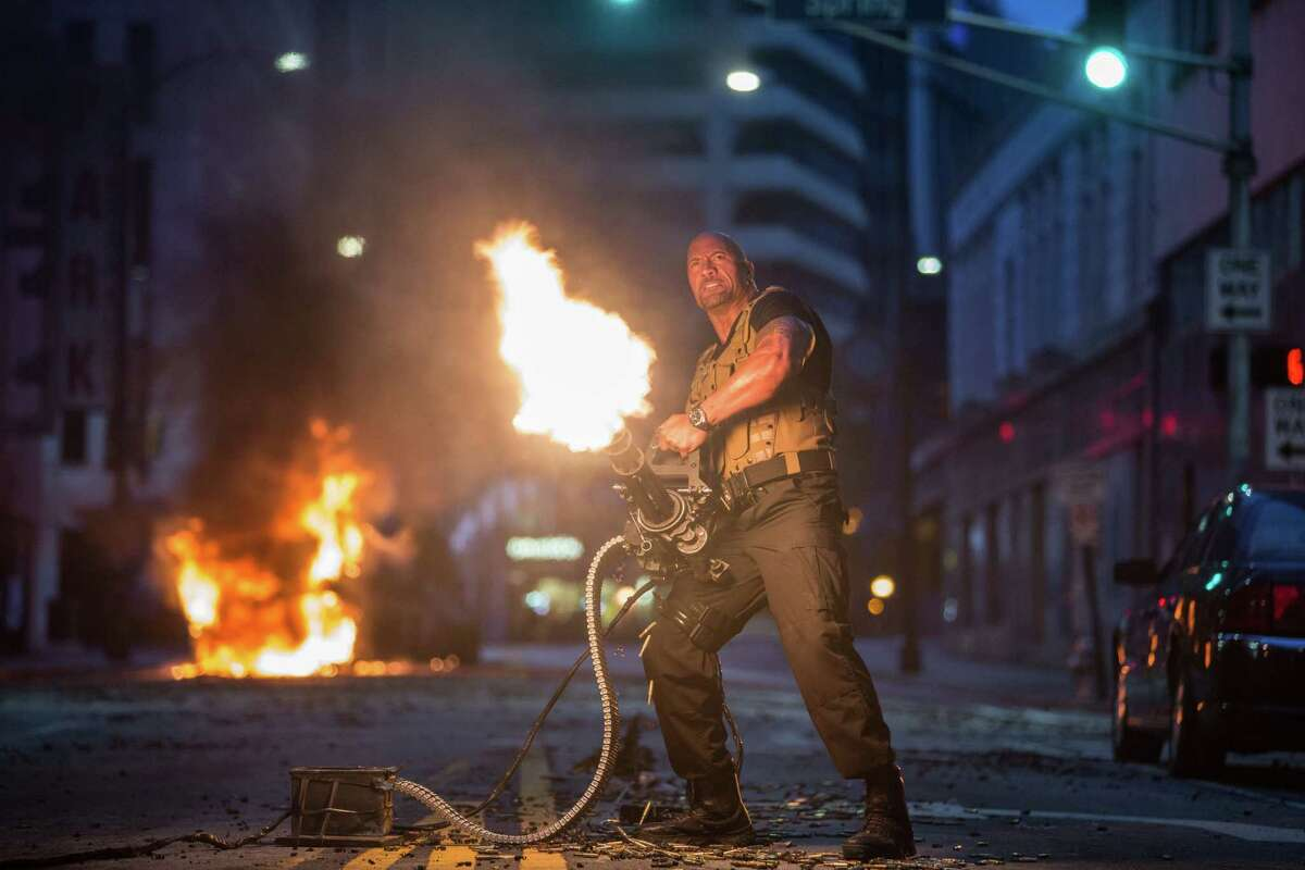 """Dwayne Johnson comes roaring back for """"Furious 7."""""""