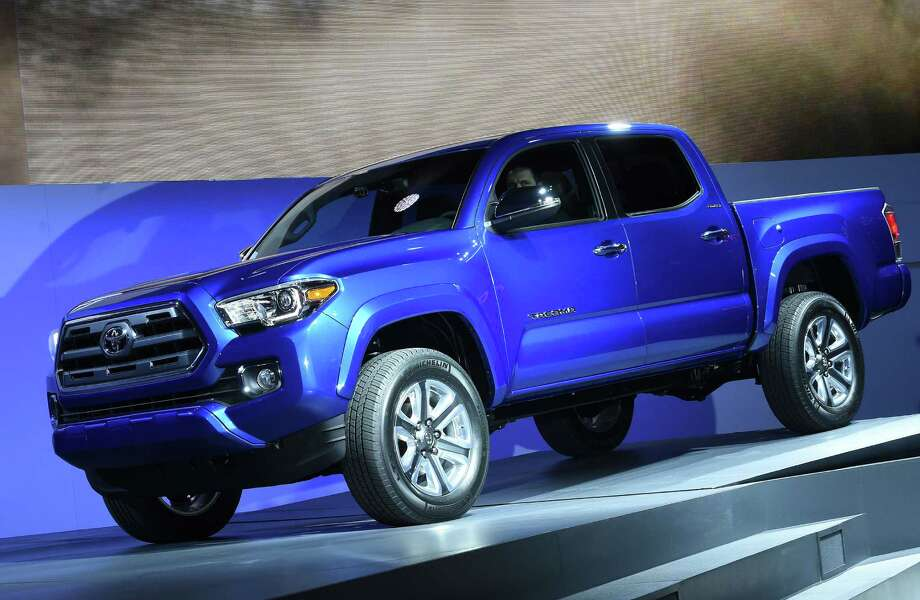 Toyota began selling the 2016 redesign of the Tacoma in fall of last year. The Toyota Tacoma was a huge success in 2015, selling more units than in any year since it was introduced in 1995, according to company sales figures. Photo: AFP /Getty Images File Photo / AFP