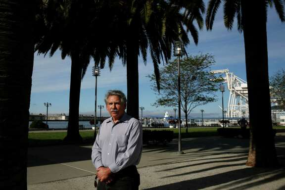 Ben Delaney, President of the Jack London District Association pictured in Jack London Square, in front of the ferry lawn March 17, 2015 in Oakland, Calif.