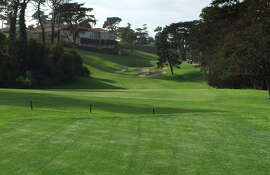 The new-look for 18th hole at Olympic Club in San Francisco.