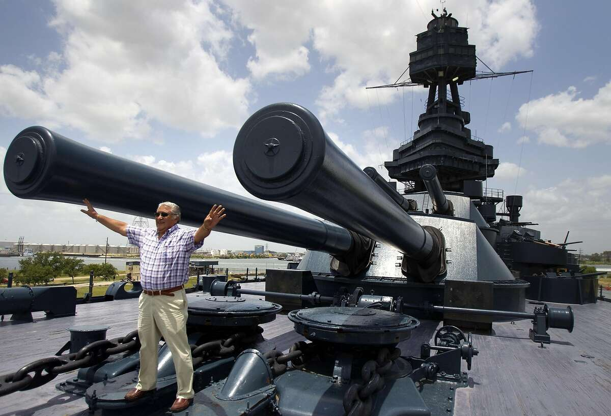 The USS Texas was commissioned in 1914 only one of six remaining that served in both World War I and World War II. This ship even fired at Nazi troops on D-Day in Normandy. It can be seen at Battleship Texas State Historic Site.