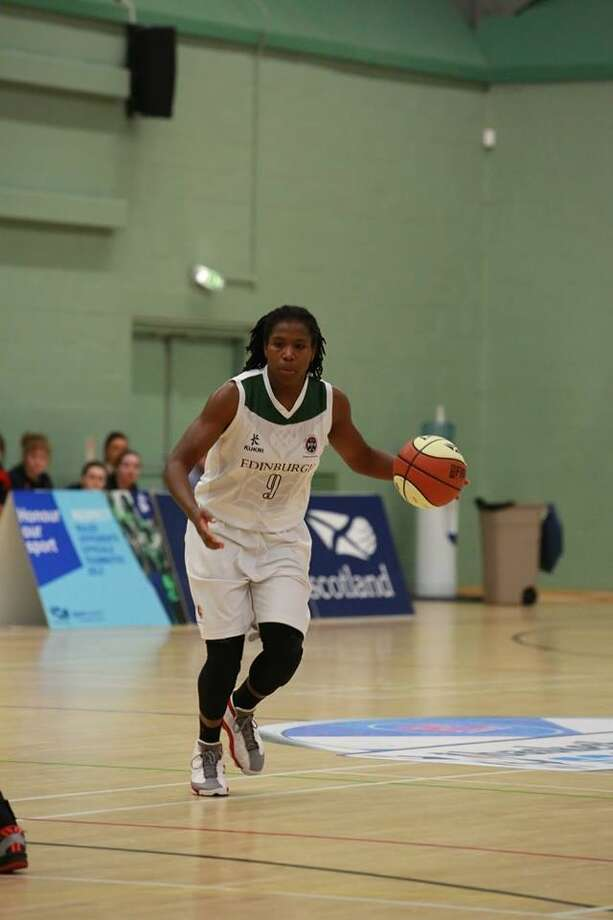 Sheila Dixon, a Schenectady High graduate who went on to play at Brown, is now a basketball player for the University of Edinburgh in Scotland and looking to go pro in Europe. (Allen Picken, Basketball Scotland) Photo: Allen Picken, Basketball Scotland