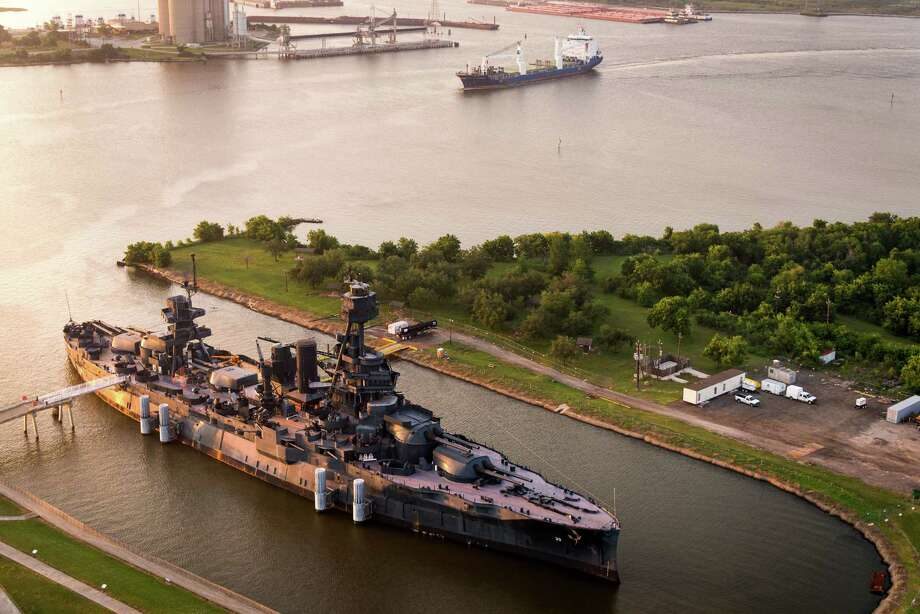 The Battleship Texas While you are in La Porte seeing the San Jacinto Monument,
