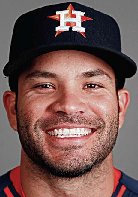 Houston Astros second baseman Jose Altuve photographed during Houston Astros spring training at the Osceola County facility, Thursday, Feb. 26, 2015, in Kissimmee. ( Karen Warren / Houston Chronicle  ) Photo: Karen Warren, Staff / © 2015 Houston Chronicle