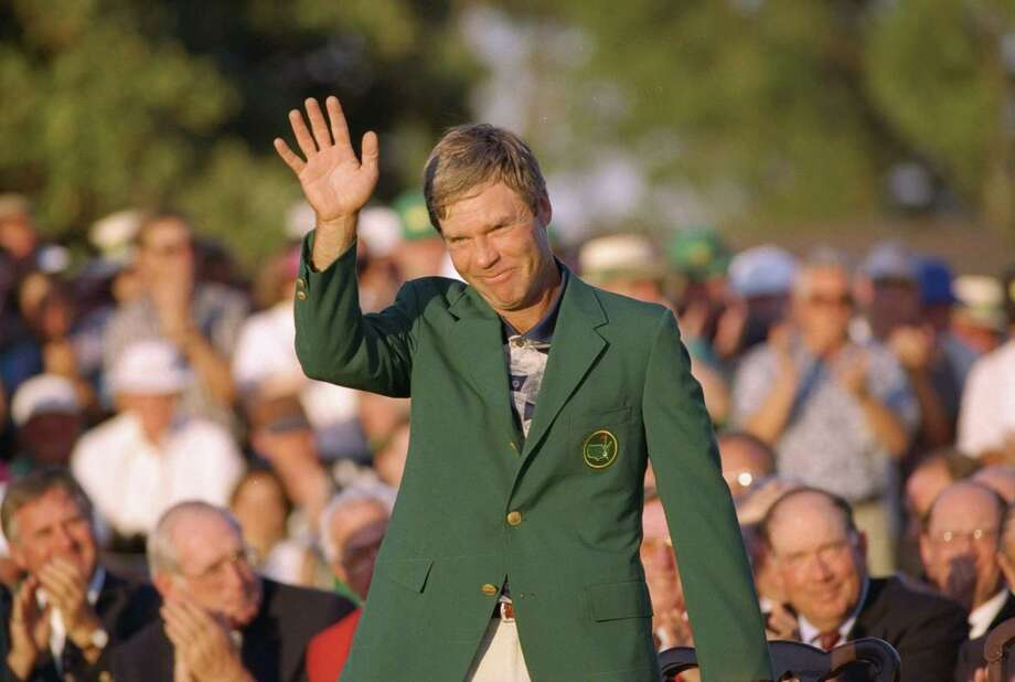 Ben Crenshaw was a popular Masters champion in 1995, winning his second green jacket at age 43. Photo: ED REINKE, STF / AP