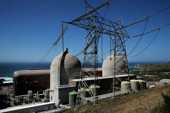 The Diablo Canyon Nuclear Power plant at the edge of the Pacific Ocean in San Luis Obispo, Calif., as seen on Tues. March 31, 2015.