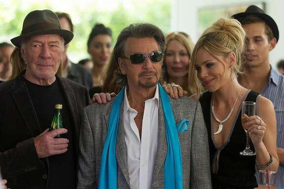 "Christopher Plummer, Al Pacino and Christopher Plummer star in ""Danny Collins."" (Bleecker Street)"