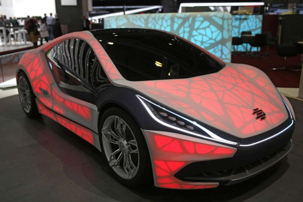 The new EDAG Light Cocoon concept car made its world debut at the Geneva International Motor Show. The