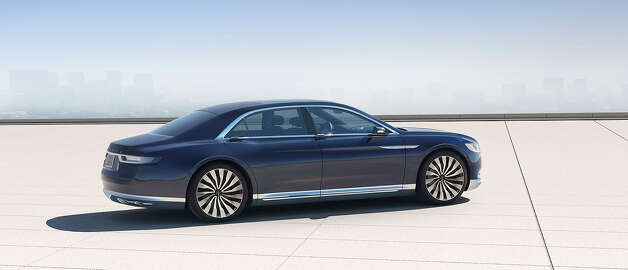 The New Lincoln Continental Concept San Francisco Chronicle