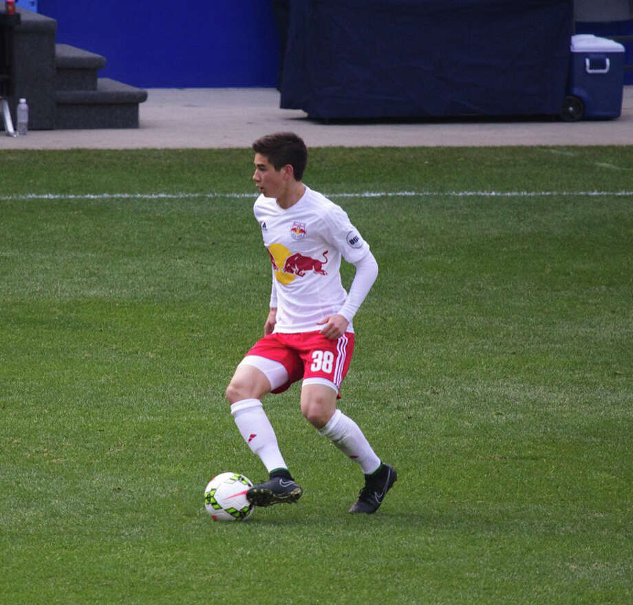 Westport's Kyle Zajec, 18, recently signed an amateur contract with the New York Red Bulls of Major League Soccer. Photo: Contributed Photo / Westport News Contributed