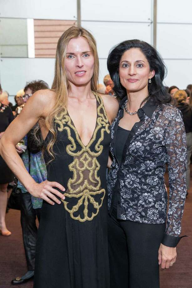 Anke Hebig Prophet and Leela Bransten at the ODC presents Dance Downtown Opening Night Gala on March 20, 2015. Photo: Drew Altizer, Drew Altizer Photography / ©Drew Altizer Photography 2015