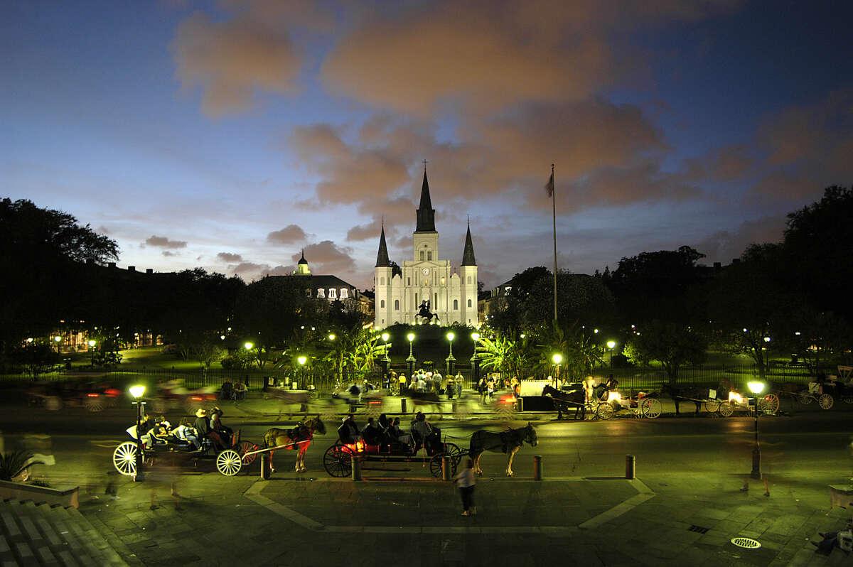Jackson Square, French Quarter, New Orleans