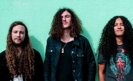 San Francisco psychedelic rockers Down Dirty Shake, which includes Aaron Grimes (left), Kyle De Martini and A.J. Lopez, put out their debut record in November and hopes to issue the next in July.