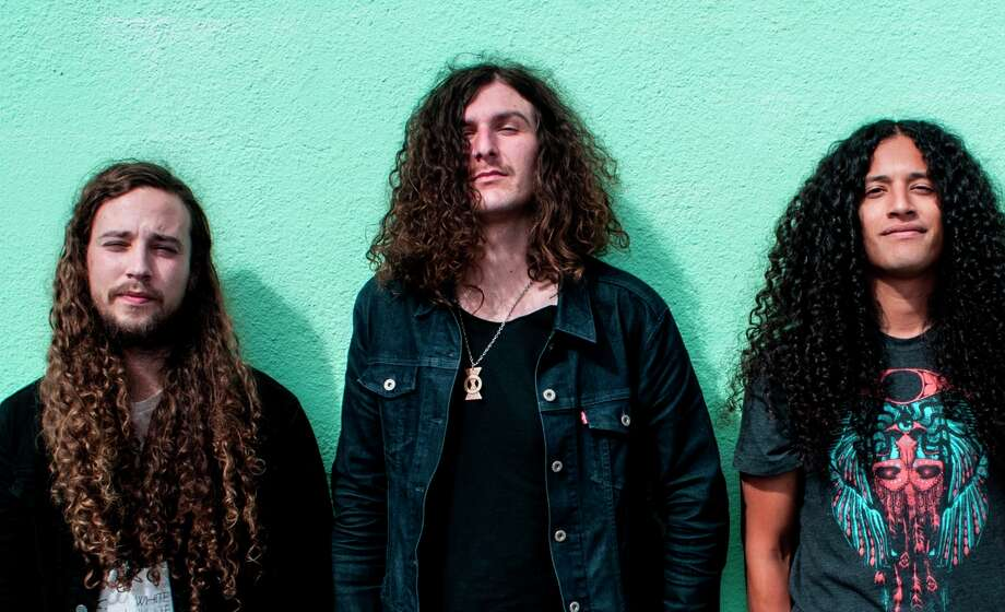 San Francisco psychedelic rockers Down Dirty Shake, which includes Aaron Grimes (left), Kyle De Martini and A.J. Lopez, put out their debut record in November and hopes to issue the next in July. Photo: Dan Fig Photography / ONLINE_YES