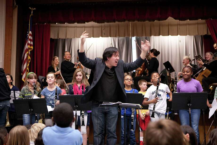 """Berkeley Symphony conductor Ming Luke will lead """"I'm a Performer"""" on Saturday, April 11. Photo: Dave Weiland / ONLINE_YES"""