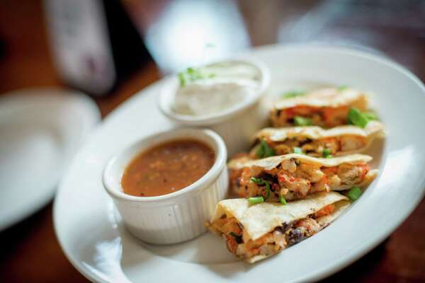 The Crawfish Quesadilla can be found at Street Eats on the main concourse  this season at Minute Maid Park.