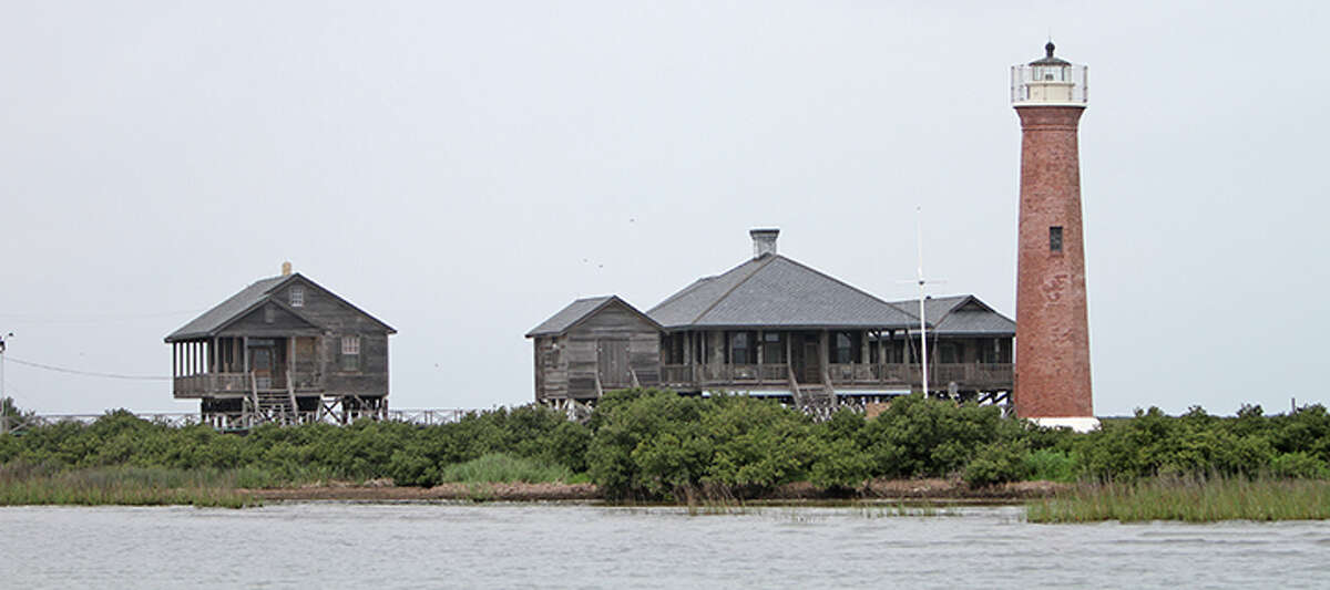 The Lydia Ann Lighthouse in Port Aransas has a deep history, having been standing since 1857.