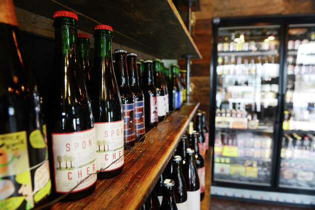 Bottled beer selection at Beer Belly Friday, March 27, 2015, on New Scotland Ave. in Albany, N.Y. (Will Waldron/Times Union) Photo: WW / 00031170A