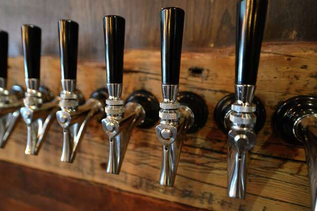 Beer taps at Beer Belly Friday, March 27, 2015, on New Scotland Ave. in Albany, N.Y. (Will Waldron/Times Union) Photo: WW / 00031170A