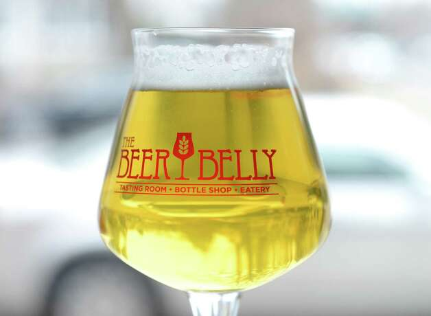 Glass of beer at Beer Belly Friday, March 27, 2015, on New Scotland Ave. in Albany, N.Y. (Will Waldron/Times Union) Photo: WW / 00031170A