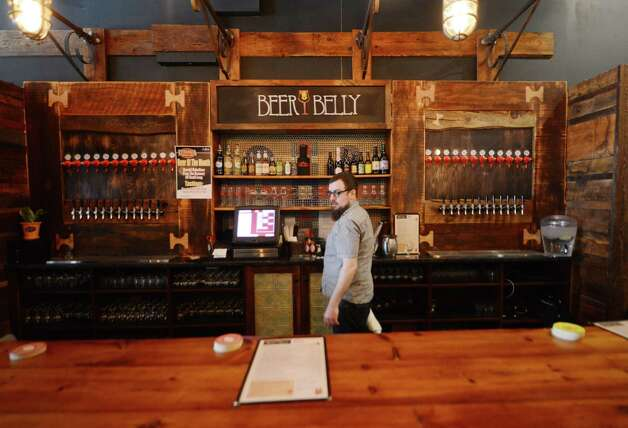 The bar at Beer Belly Friday, March 27, 2015, on New Scotland Ave. in Albany, N.Y. (Will Waldron/Times Union) Photo: WW / 00031170A