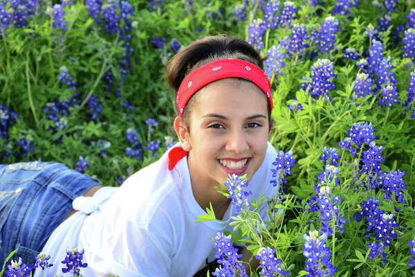 My daughter in Castroville off of Highway 90. They have such a gorgeous spread of bluebonnets and wildflowers that I couldn't resist. Shared by Elisa Reyes-Hinojosa.