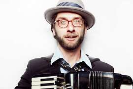 """Bay Area accordion ace and composer Rob Reich will play original music from his new CD, """"Shadowbox,"""" on Saturday, April 11, at the Red Poppy Art House."""