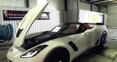 Corvette Stingray with 1,000 horsepower is Hennessey's