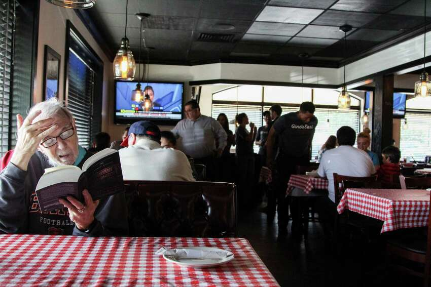 Gino's East Chicago Pizzeria opened Thursday to hundreds of hungry customers. The restaurant, located at 8224 Fredericksburg Road, is the third location in Texas, with the other two established in the Houston area.