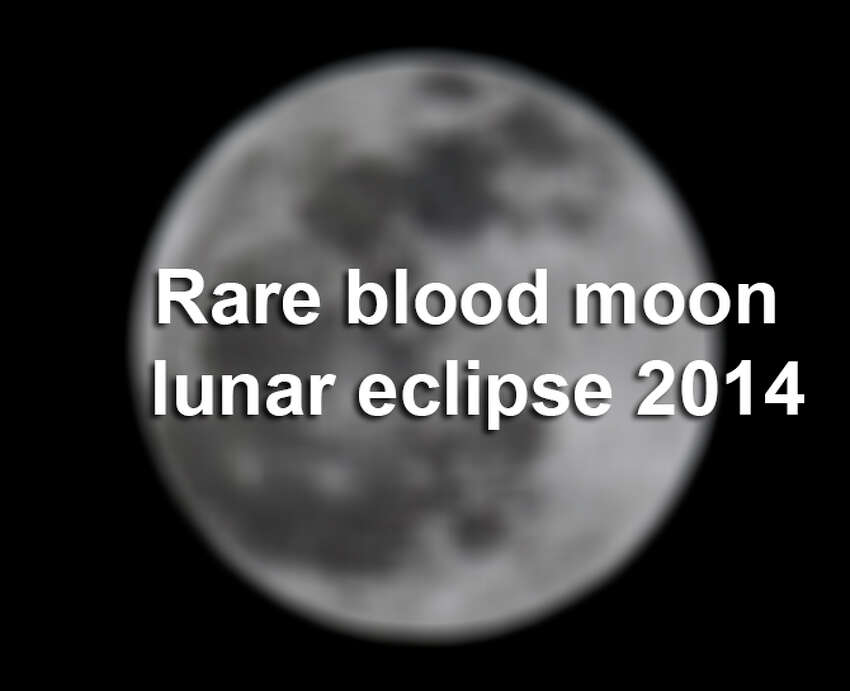 Rare blood moon lunar eclipse 2014