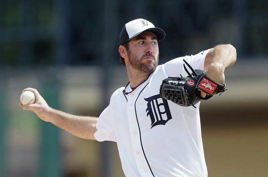 Tigers ace Justin Verlander's earliest date for a first start is April 12, after a stint on the disabled list. Photo: Carlos Osorio / Associated Press / AP
