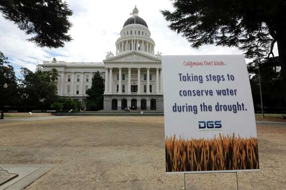 Gov. Jerry Brown has ordered the first mandatory, statewide water cutbacks by cities and towns as the state's nearly 40 million people head into a fourth summer of severe drought.
