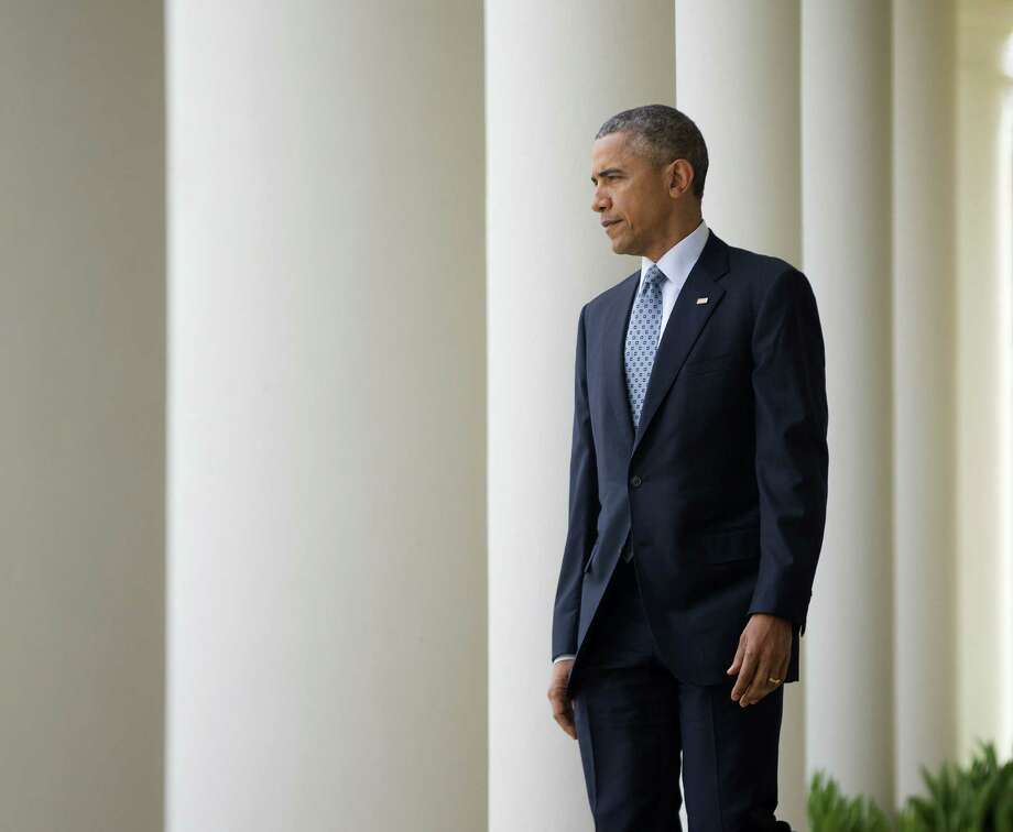 "President Barack Obama heralded a framework nuclear understanding with Iran as an ""historic"" agreement that could pave the way for a final deal. Photo: Pablo Martinez Monsivais, STF / AP"