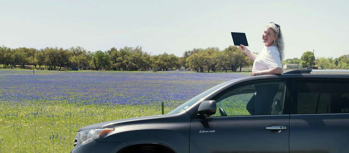 PerriAngela Wickham gives her social media followers real time views of Texas bluebonnets, whether they're looking for places to visit or, like her, are homesick for the Lone Star State.