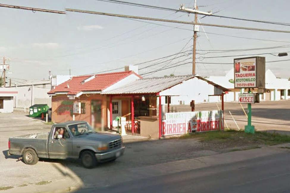 Taquitos Atotonilco: 3709 Blanco Road, San Antonio, Texas 78201Date: 06/16/2016 Score: 75Highlights: Inspector observed