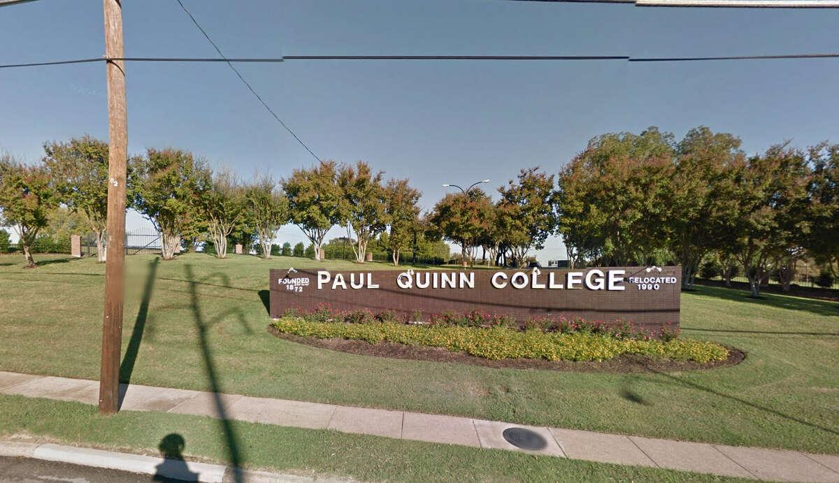 Texas Paul Quinn College Opened: 1872 Where: Dallas Type: private