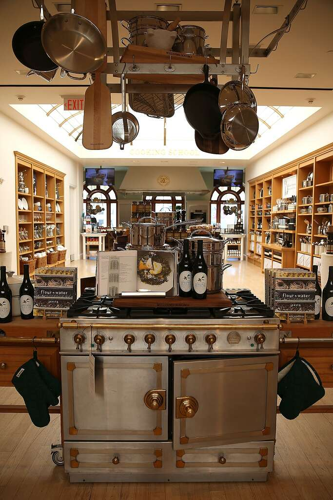 A View Of Items At Williams Sonoma Flagship Store In San Francisco,  California On Friday