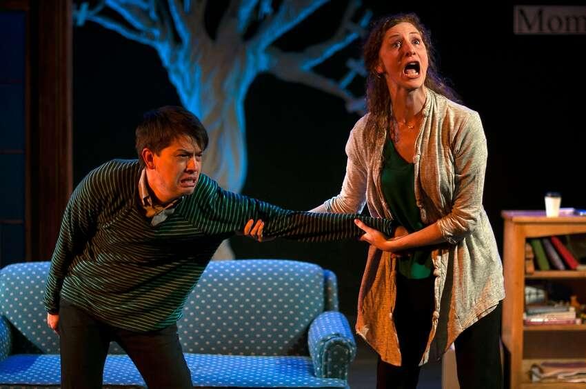 Greg Ayers and Jessica Bates in Lauren Yee's winning work,