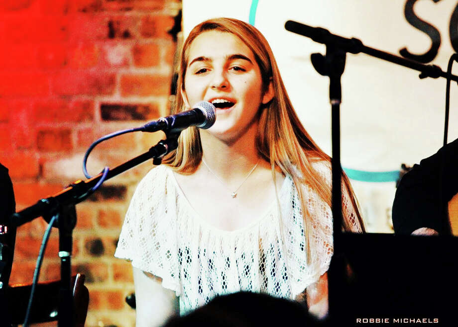 Greenwich High School student and singer Sarah Mathes will highlight a benefit for The Emily Catherine Fedorko Foundation at 7:30 p.m. April 11 at the Arch Street Teen Center.  For more information, visit www.ArchStreet.org. Photo: Contributed Photo / Greenwich Time Contributed