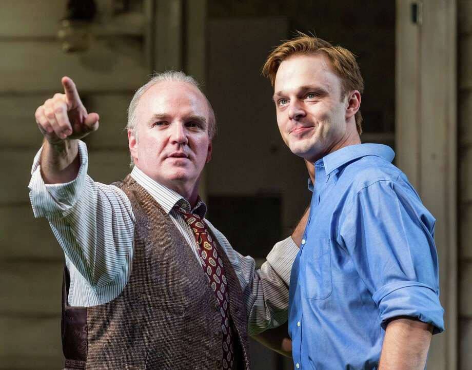 "The Alley Theatre's powerful staging of Arthur Miller's dramatic classic ""All My Sons"" stars  James Black, left, and  Jay Sullivan. Photo: Craig Hartley, Freelance / Copyright: Craig H. Hartley"