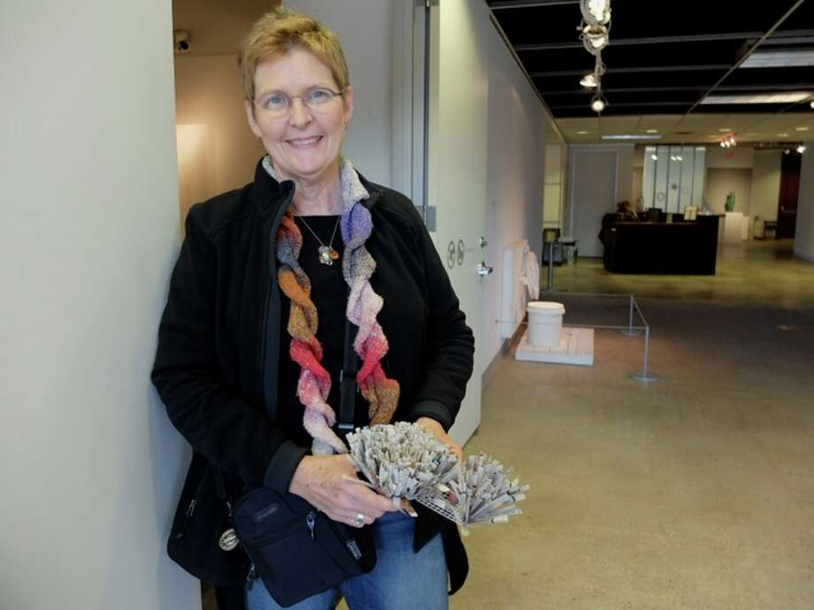 Former graphic designer Ann Morton now works with communities to create art projects. Photo: Molly Glentzer
