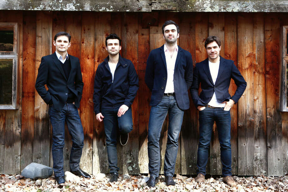 The Modigliani Quartet will perform Thursday at Rice University's Stude Concert Hall