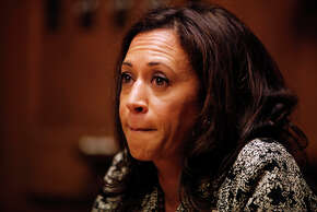 """State Attorney General Kamala Harris' """"campaign kickoff"""" in San Francisco featured some big names but barred the media."""