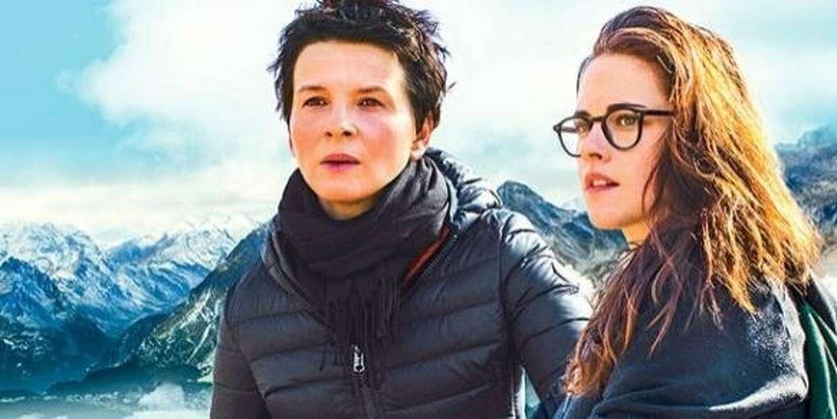 Juliette Binoche, left, and Kristen Stewart in